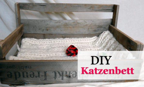 diy- katzenbett selbst bauen, Gartenarbeit ideen