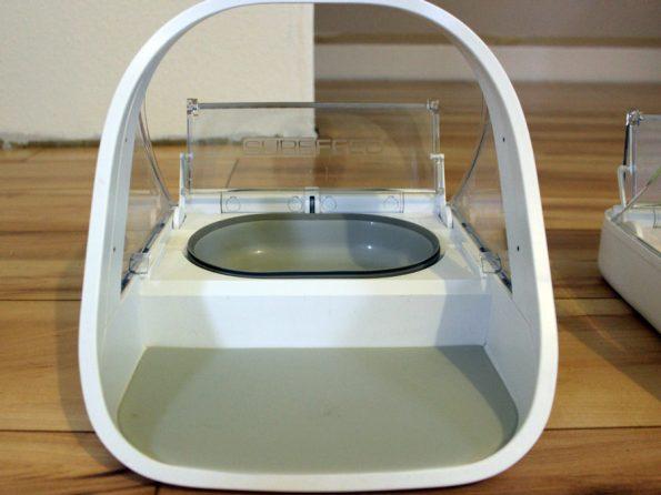 Futterautomat von Surefeed- graue Fußmatte