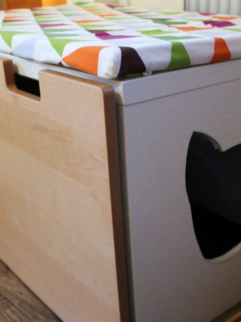 DIY: Katzenklo verstecken im Katzenklo-Schrank