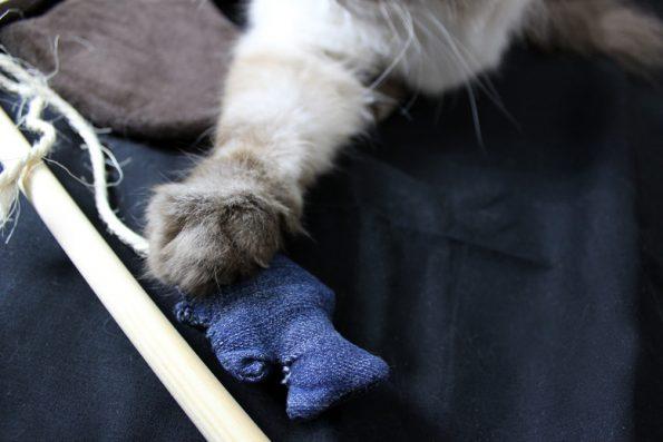 DIY Katzenangel