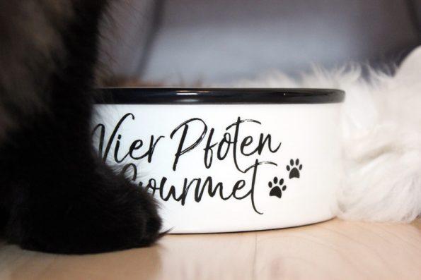 Futternapf für Katzen Vier Pfoten Gourmets