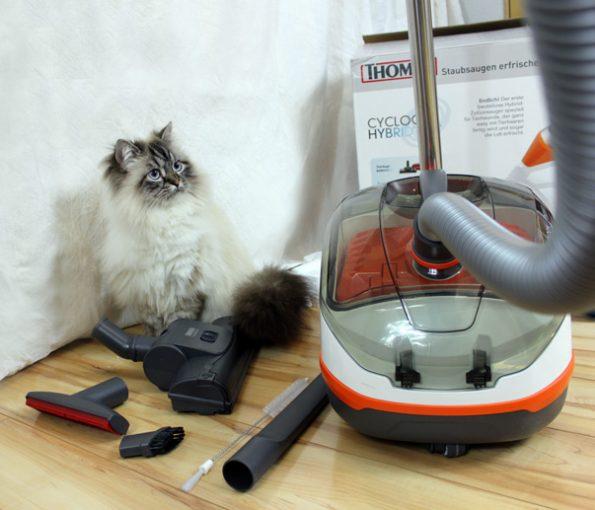 Thomas Cycloon Hybrid Pet & Friends mit Tierhaardüsen und weiterem Zubehör
