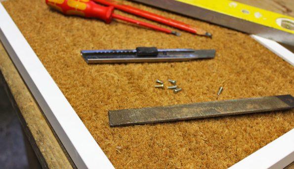 Kratzmatte Werkzeug