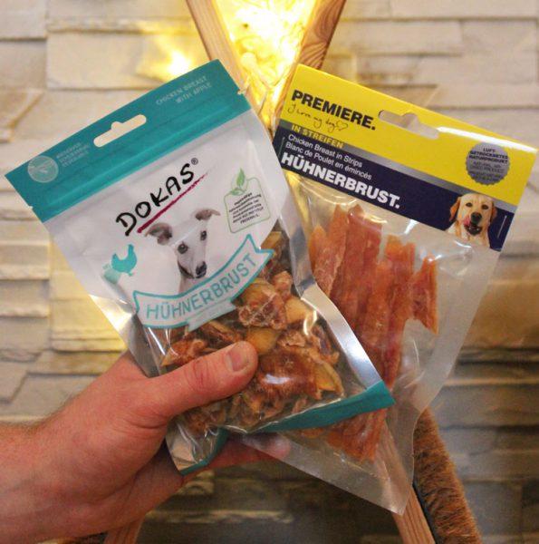 Fensterkatzen Tauschpaket Hühnerbrustleckerlies